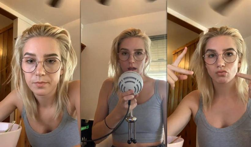 Courtney Miller's Instagram Live Stream from August 12th 2020.