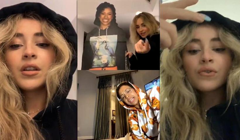 Sabrina Carpenter's Instagram Live Stream with Liza Koshy from August 6th 2020.