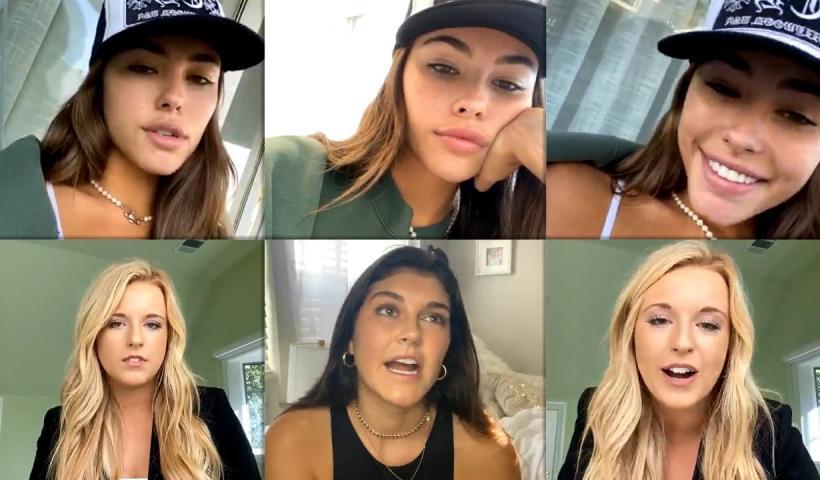 Madison Beer's Instagram Live Stream from September 28th 2020.
