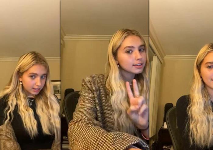 Lilia Buckingham's Instagram Live Stream from October 26th 2020.
