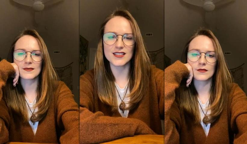 Evan Rachel Wood's Instagram Live Stream from November 19th 2020.