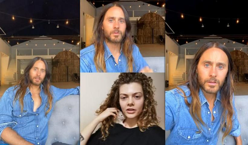 Jared Leto's Instagram Live Stream from December 2nd 2020.