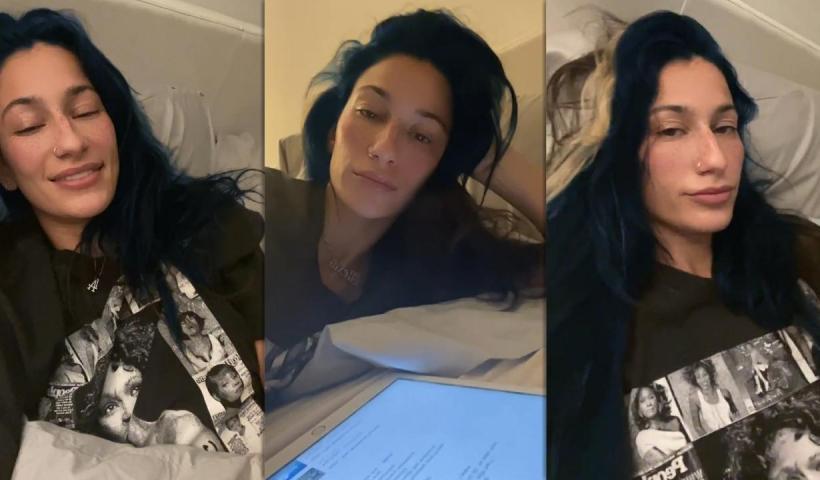 Lexy Panterra's Instagram Live Stream from December 22th 2020.