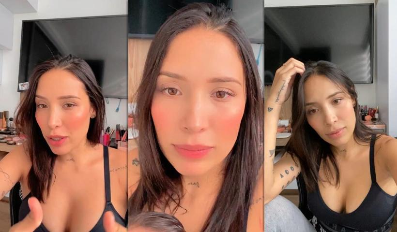 Luisa Fernanda W's Instagram Live Stream from January 20th 2021.