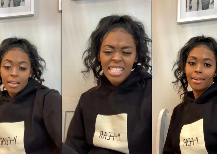 Nafessa Williams Instagram Live Stream from January 25th 2021.