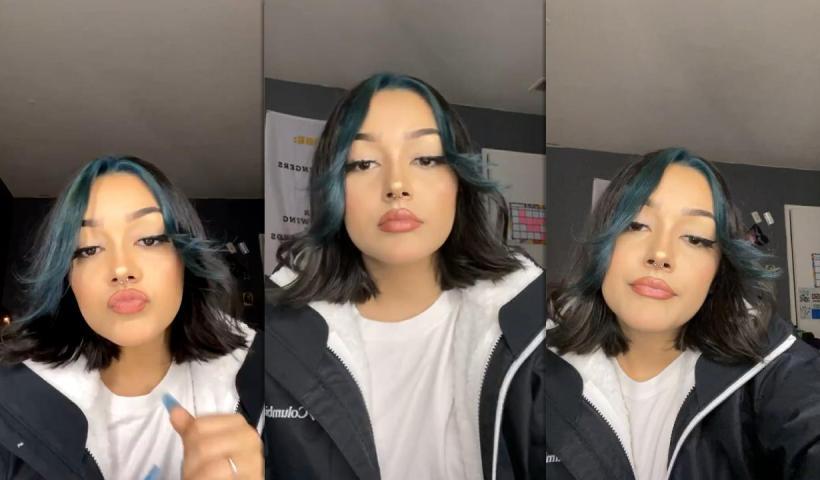 Hailey Orona's Instagram Live Stream from January 24th 2021.