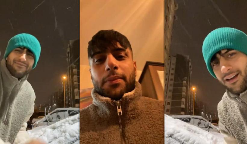 Yusuf Aktaş aka Reynmen's Instagram Live Stream from January 16th 2021.