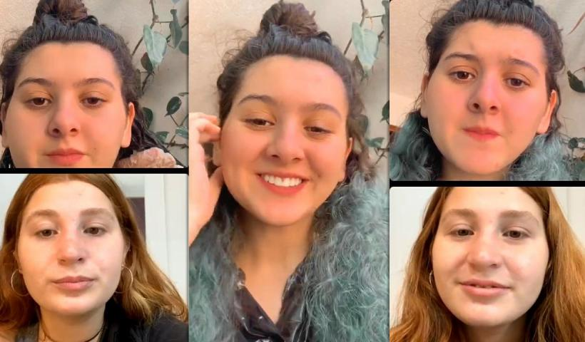 Lorena Tucci's Instagram Live Stream with Giulia Garcia from April 23th 2021.