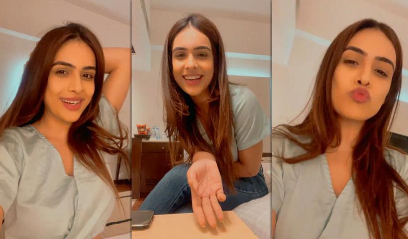 Neha Malik's Instagram Live Stream from April 4th 2021.