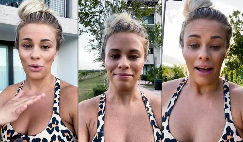 Paige VanZant's Instagram Live Stream from April 15th 2021.