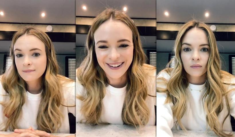 Danielle Panabaker's Instagram Live Stream from May 18th 2021.