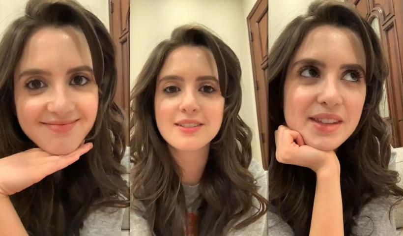 Laura Marano's Instagram Live Stream from May 6th 2021.