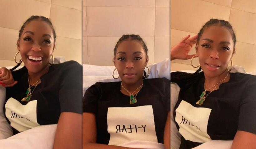 Nafessa Williams Instagram Live Stream from May 24th 2021.
