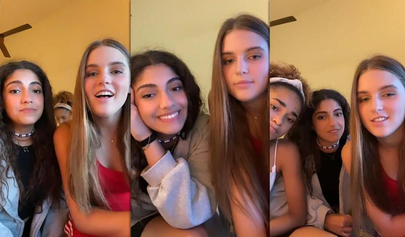 avannah Clarke's Instagram Live Stream with Nour Ardakani and Mélanie Thomas from July 30th 2021.