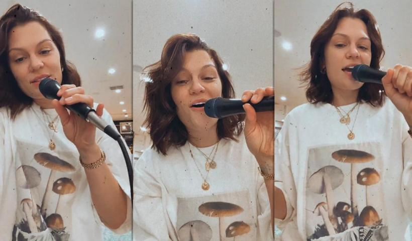 Jessie J's Instagram Live Stream from September 7th 2021.