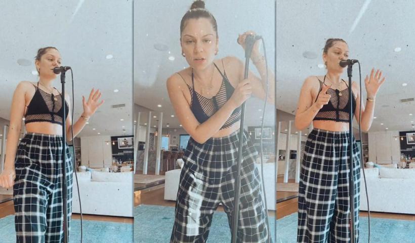 Jessie J's Instagram Live Stream from September 8th 2021.