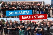 Starkes Zeichen für Tarif auch aus Bad Langensalza - Solidarität macht stark!