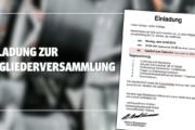 Medebach & Hallenberg-Hesborn: Einladung zur Mitgliederversammlung