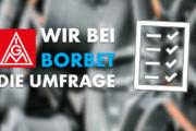 Wir bei Borbet – Die Umfrage: Große Beteiligung und klares Votum für Tarif!