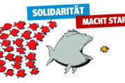"""Metallerinnnen und Metaller bei Bete solidarisch: """"Wir wünschen Euch Mut und Durchhaltevermögen!"""""""