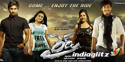 hindi dubbed movies of nani - ride poster