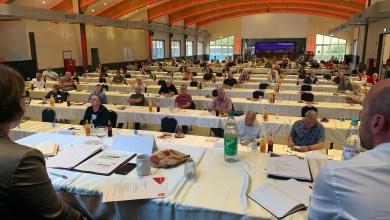 Photo of Delegiertenversammung  wieder in Präsenz