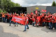 Lied der Streikenden von HES RIVA in Trier und in Horath