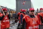 """Kolleginnen & Kollegen der Metallguss Schiefelbusch solidarisch: """"Bleibt standhaft und setzt euch durch!"""""""