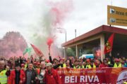 Streiknachrichten B.E.S. #1: RIVA rück die Kohle raus, sonst gehen hier die Öfen aus!