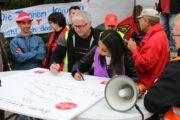 Solidaritätspakt RIVA H.E.S. und B.E.S.: Keiner schiebt uns weg – wir kämpfen gemeinsam