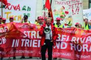 Streik bei RIVA: Gemeinsamer Appell der internationalen Solidaritätskonferenz und Aufruf zu internationalen Aktionswochen