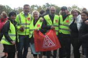 Streikversammlung der Beschäftigten der BHW/Postbank in Hameln sendet solidarische Grüße, Mut und Kraft an die Streikenden von RIVA