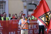 Video: Versuch den Streik bei RIVA in Trier und Horath am Arbeitsgericht zu stoppen gescheitert. Gerechtigkeit lässt sich nicht verbieten!