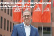 """Wolfgang Lemb: """"Tarifverträge als Grundlage für mehr Gerechtigkeit und soziale Perspektiven für Europa"""""""