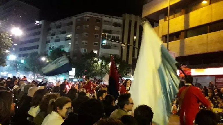 Entierro de la Sardina Murcia - Gran Desfile