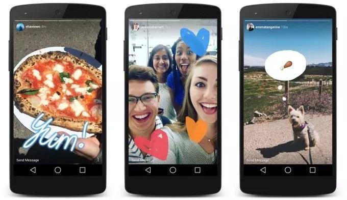 instagram stories: nuevos formatos de video