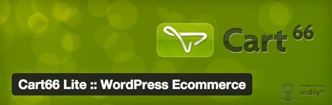 mejores plugins wordpress ecommerce cart66 lite wordpress ecommerce