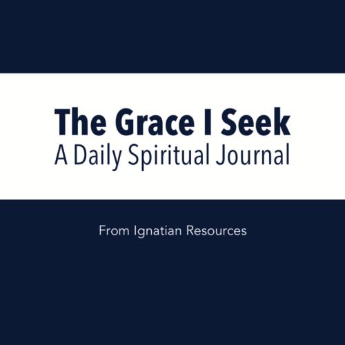 Grace I Seek Journal Logo Square