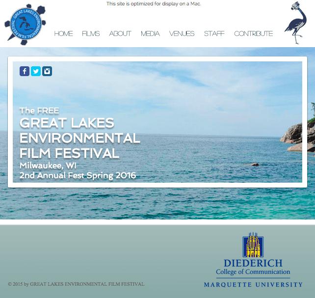 Great Lakes Environmental Film Festival