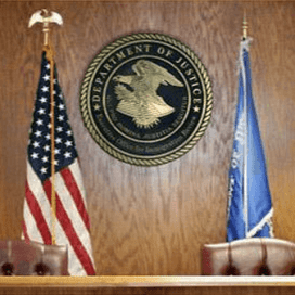 Federal Immigration Courtroom