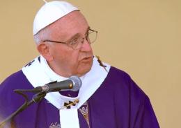 Pope Francis - Border Mass