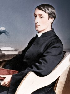 Gerard Manley Hopkins, SJ Courtesy National Portrait Gallery