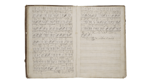 Downland Manuscript Courtesy of the Folger Collection