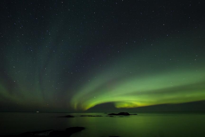 Northern Lights. Courtesy of NASA