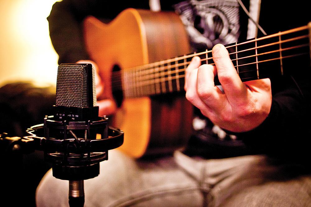 acoustic guitar recordings