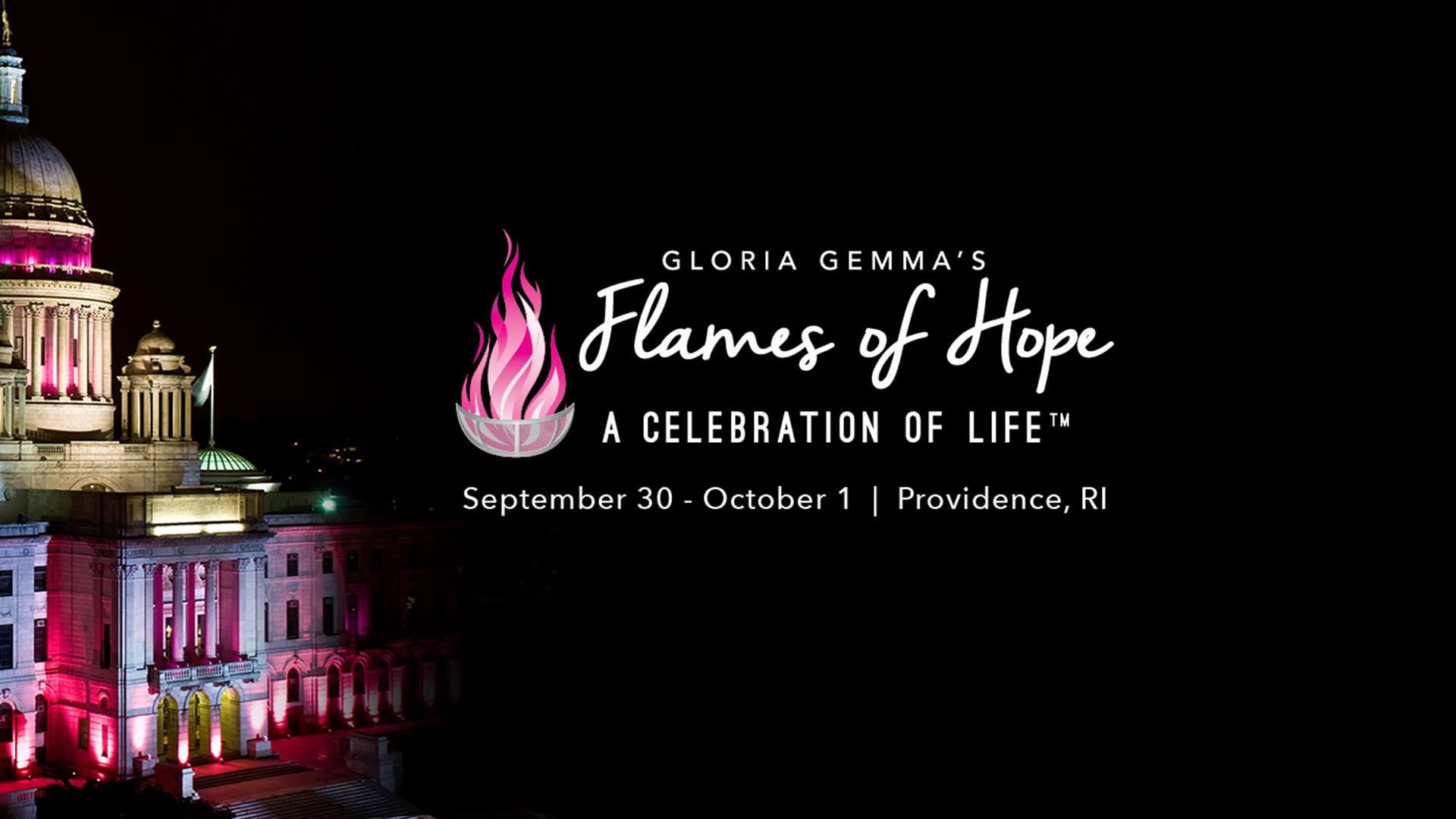 Gloria Gemma Flames of Hope Weekend Ignite Providence