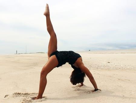 Upward Bow (Wheel) Yoga Pose