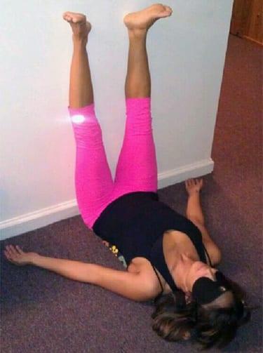 Viparita Karani: Legs Up the Wall