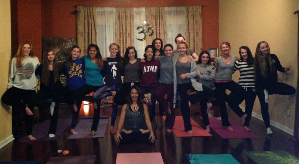 Yoga parties with Soulfire
