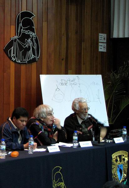 Miguel Hernández, Carlos Lenkersdorff y Enrique Dussel